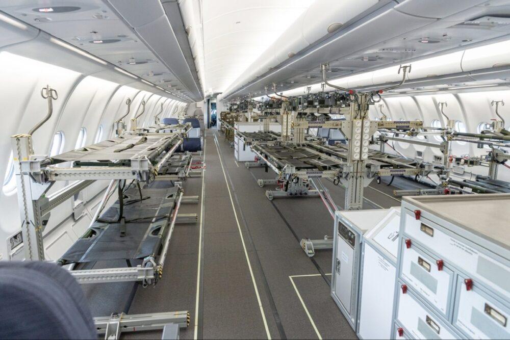 Airbus MEDEVAC Interior