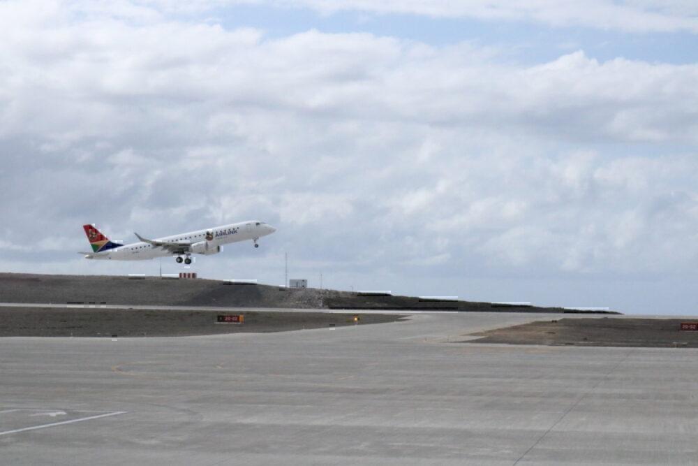 SA Airlink at Saint Helena