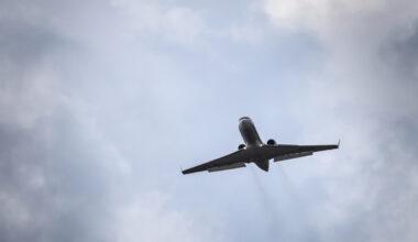 Gulfstream private jet silhouette