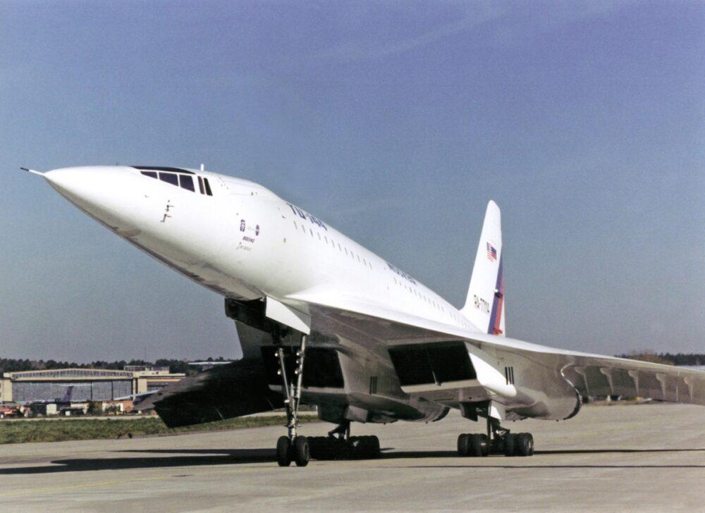 Tu-144 Jet