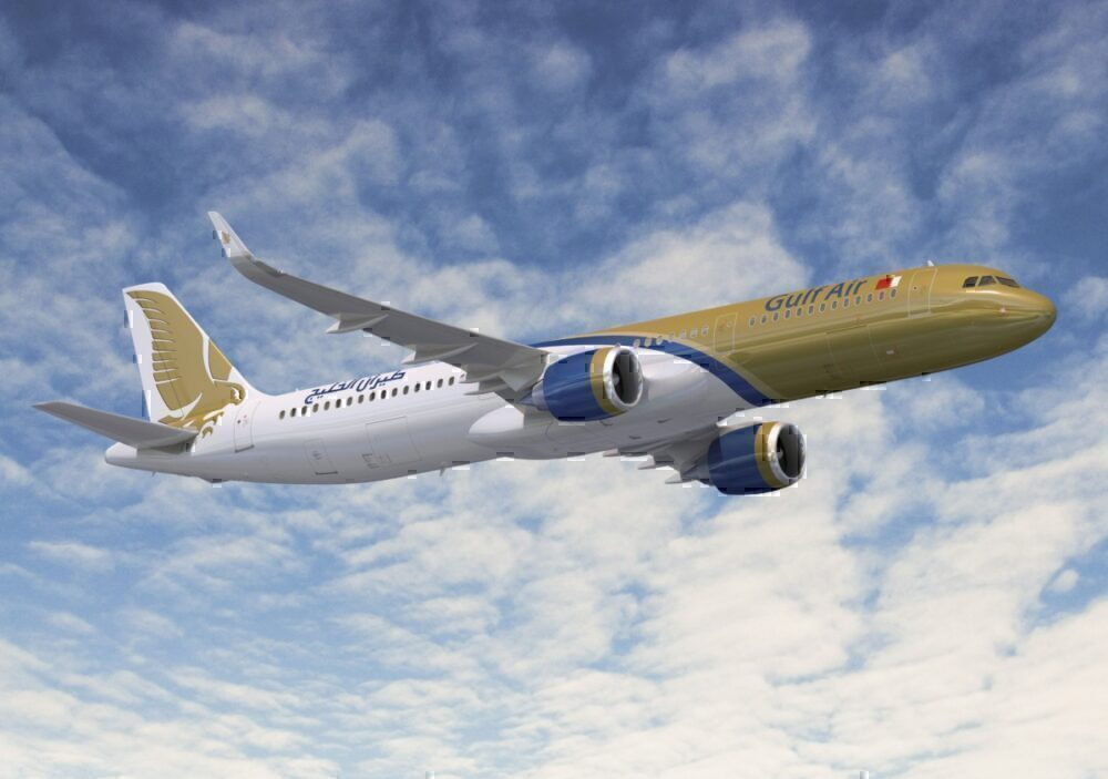 Gulf Air Takes Delivery Of Its First Airbus A321neo