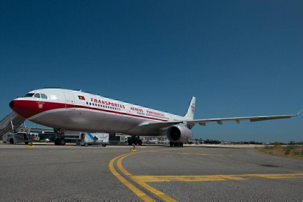 TAP A330 retrojet