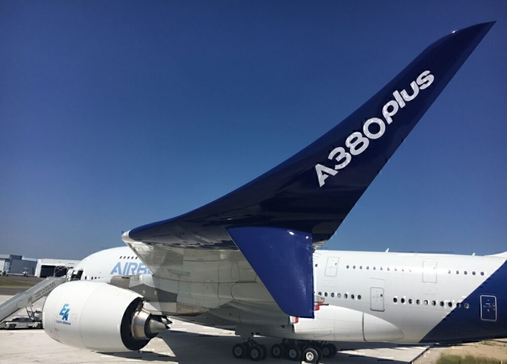 Airbus A380plus close-up