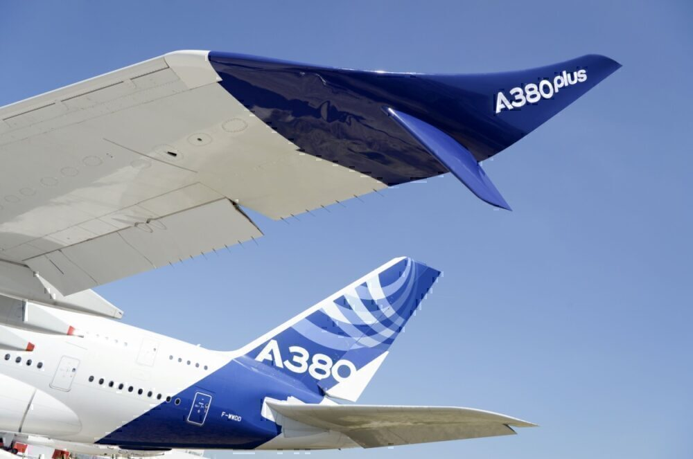 A380plus enhance winglets