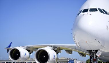 A380 on show at PAS