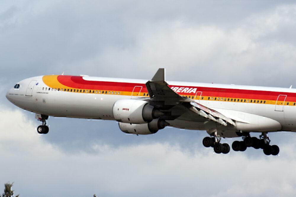 Iberia last A340-600