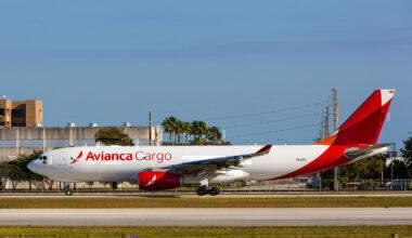 avianca cargo a330