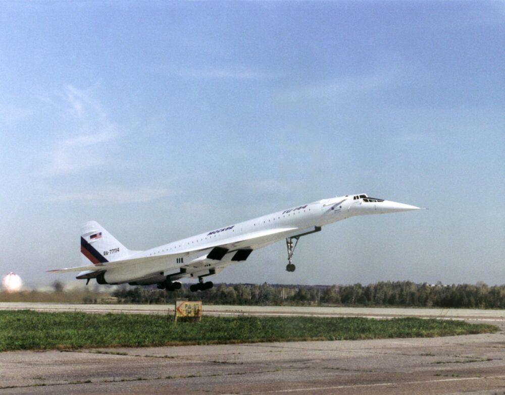 Tu-144 Plane