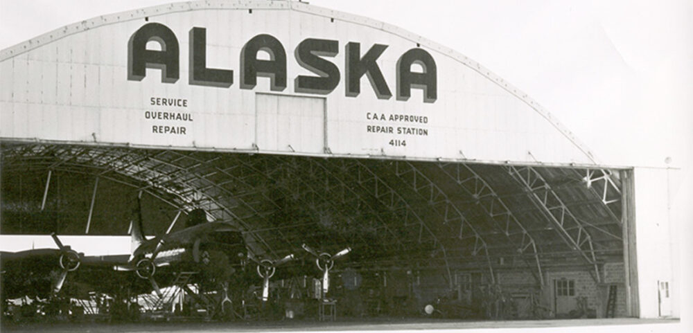 Alaska Airlines Hangar