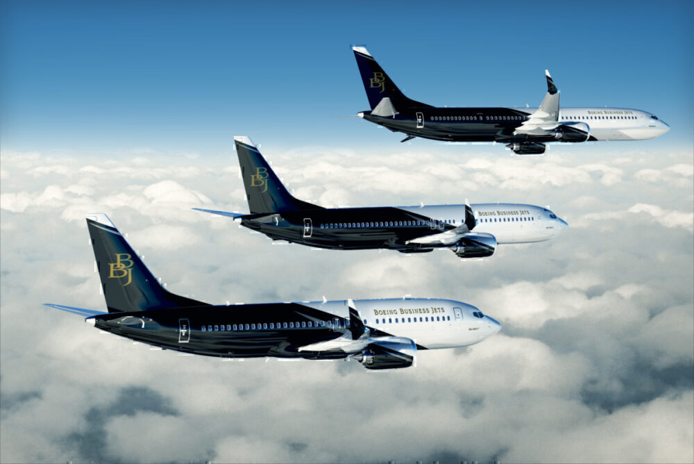 BBJ MAX aircraft