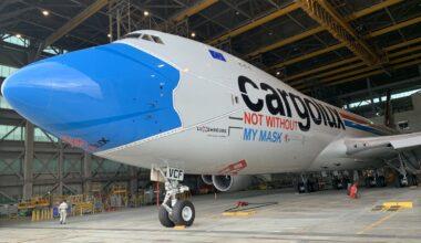 Cargolux mask