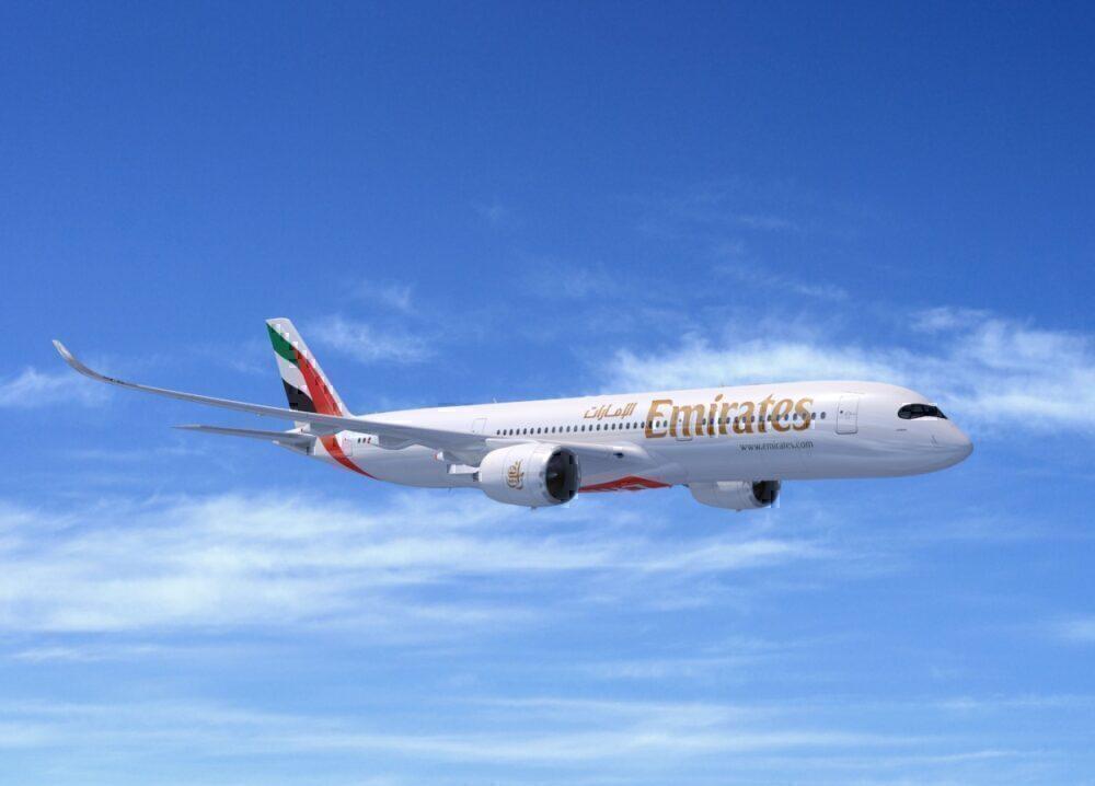Emirates A350-900 mock up