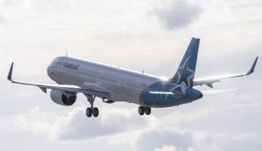 First A321LR for Air Transat
