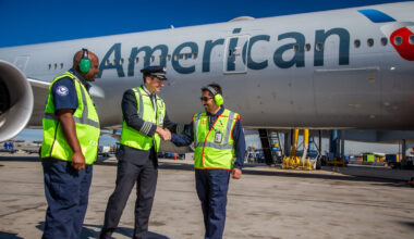 American Airlines, CARES Funding, Service Suspension