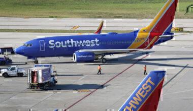 Southwest Getty Boeing 737