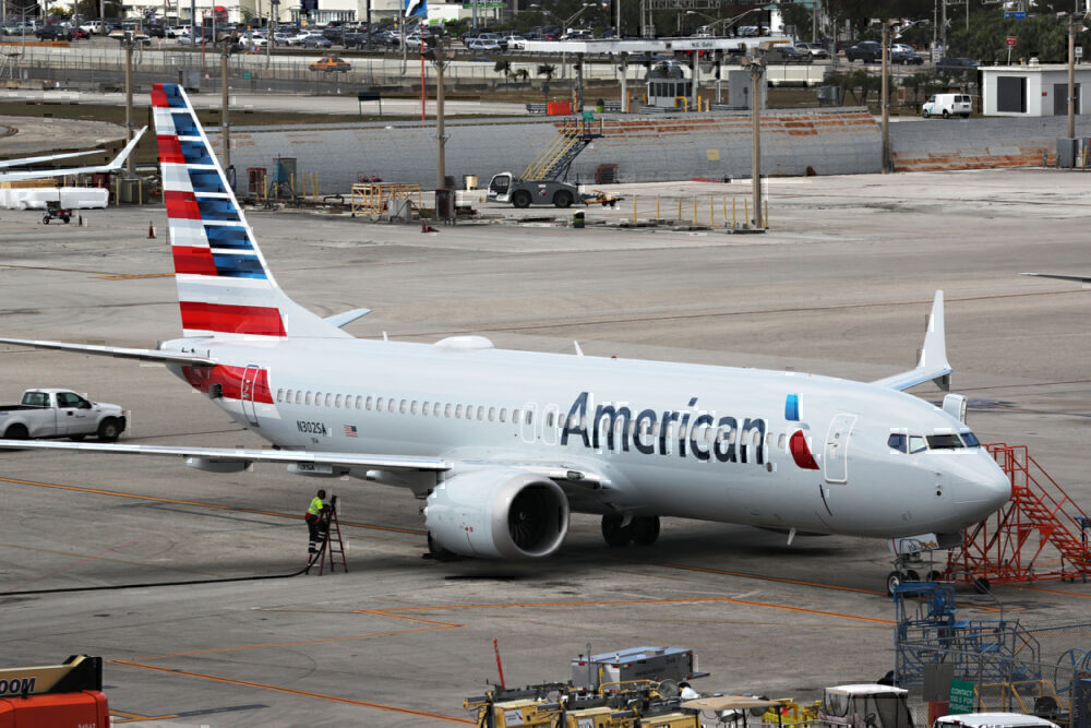 American flies two 737 MAX from Roswell to Tulsa