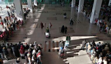 Islamabad Airport suffers damage from rain
