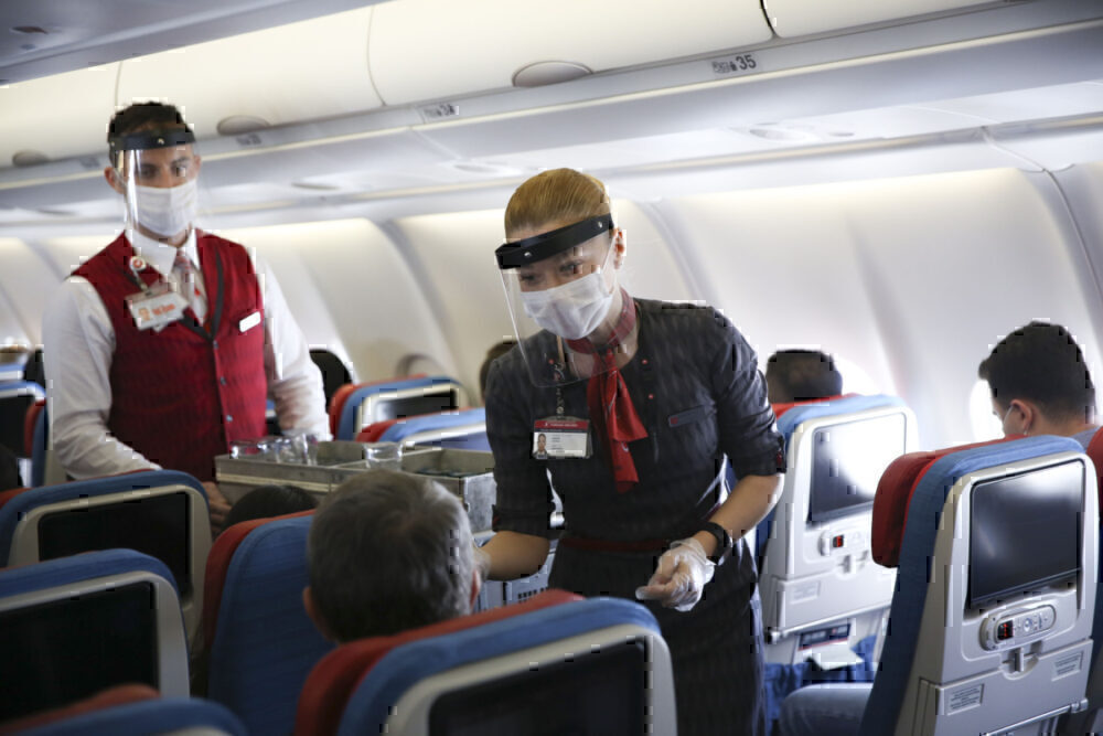 In-flight service