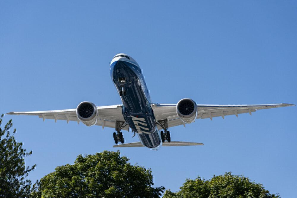 Boeing, 777X, Testing Program