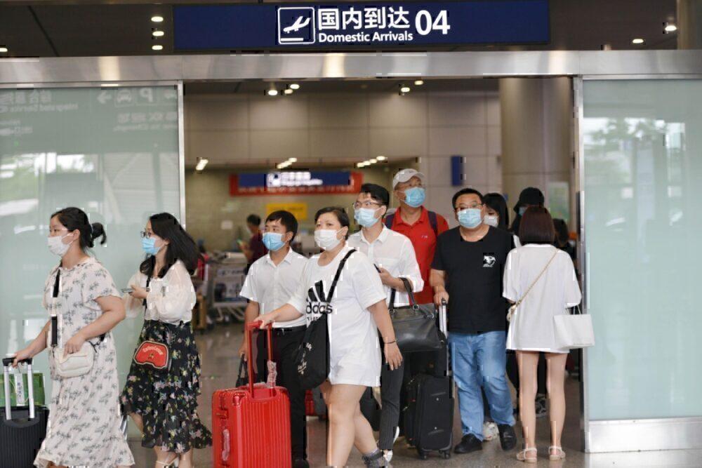 China coronavirus domestic air travel
