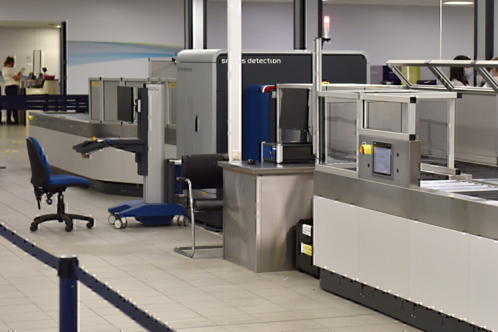 CT Scanner airport