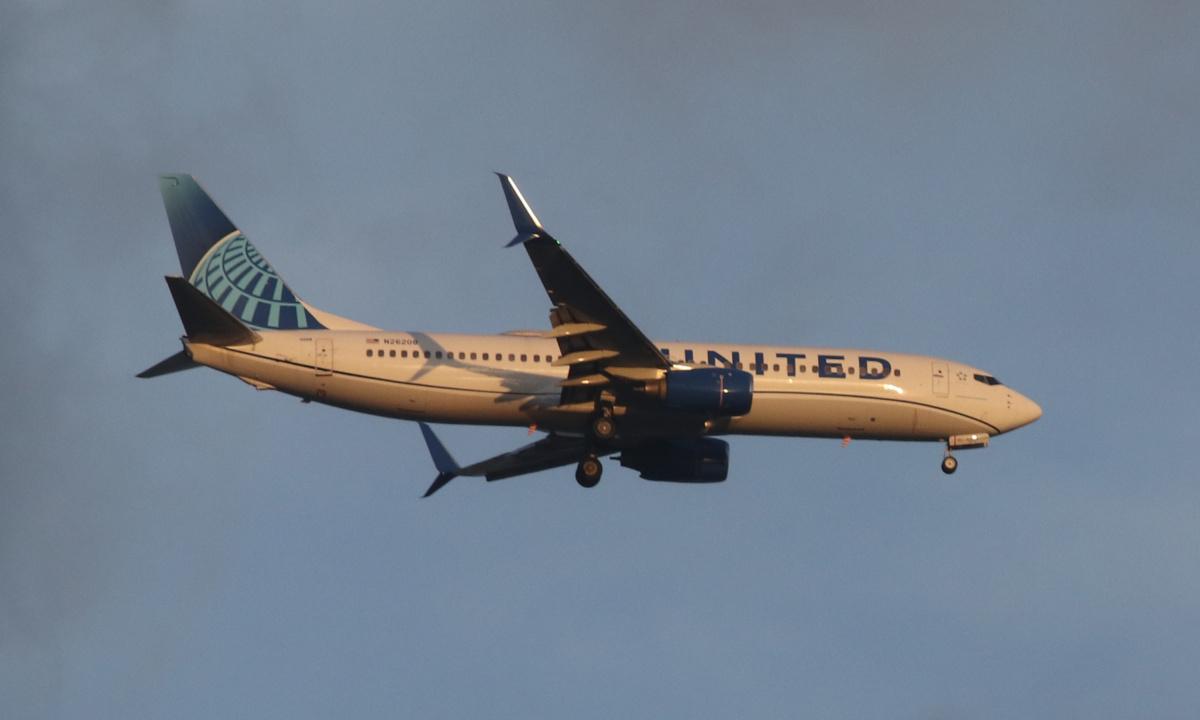 United 737 getty