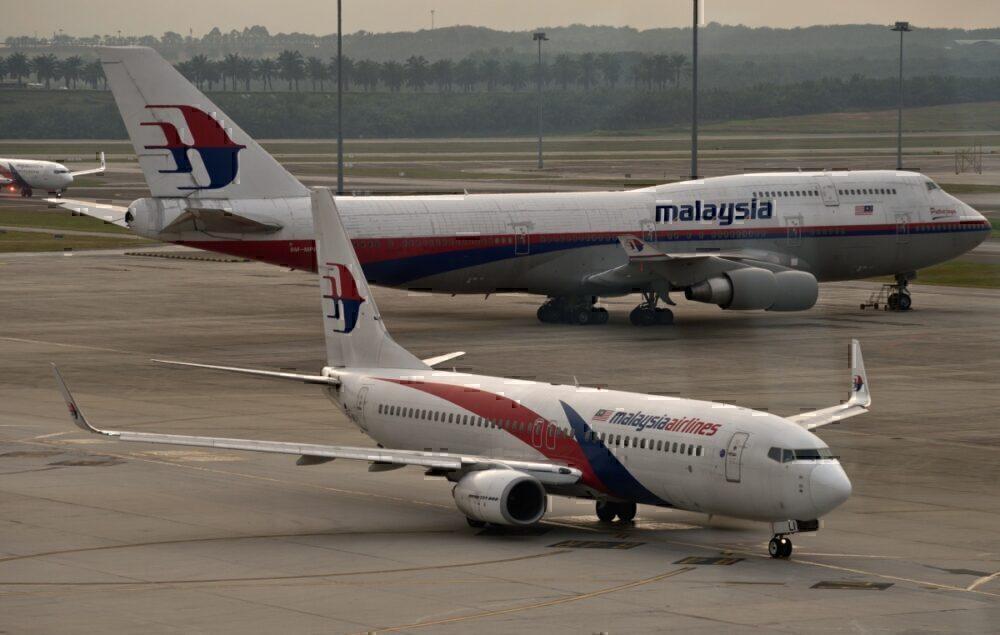 Malaysia 747 and 737
