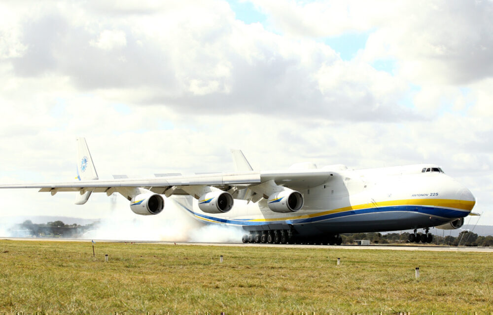 An 225 in Perth