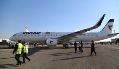 IranAir rescue flight getty