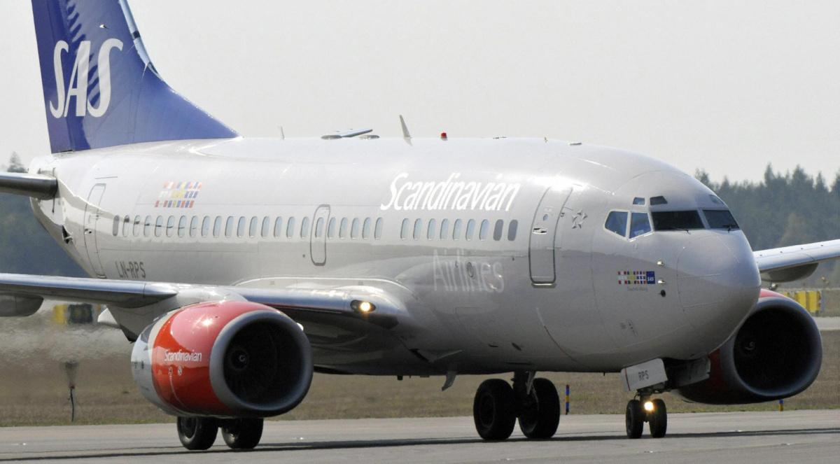 SAS Boeing 737 Getty