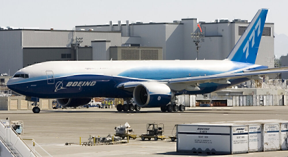 Boeing 777 Freighter Getty Images