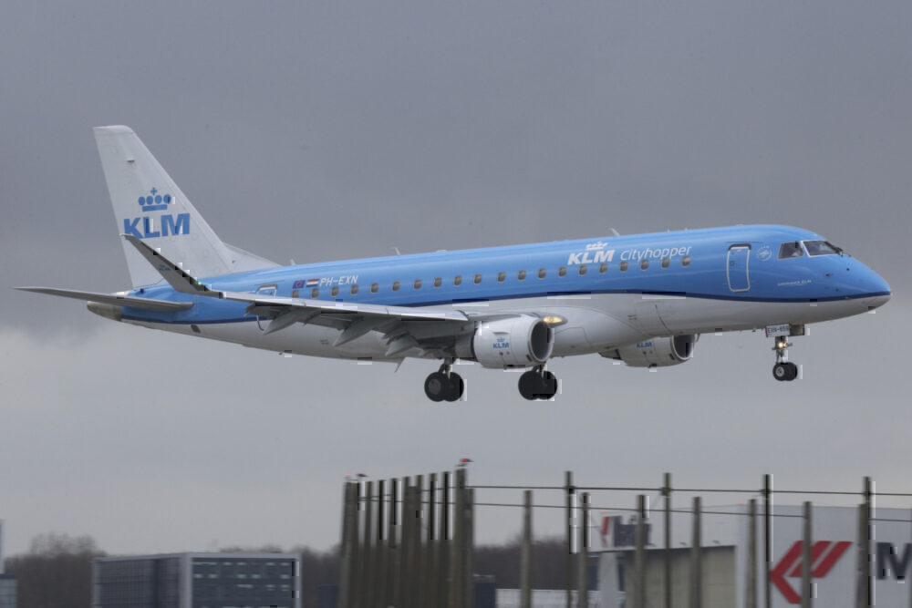 E175 Cityhopper KLM