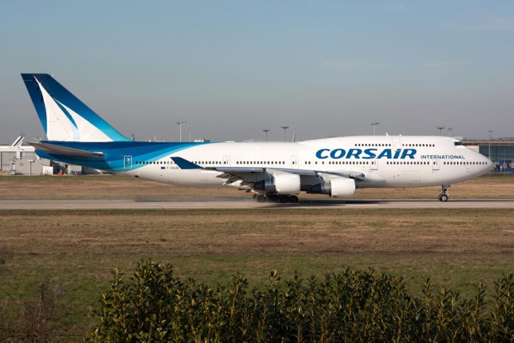 Corsair, Boeing 747, Aircraft Graveyard