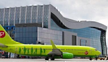 S7 Boeing 737-800 medical emergency