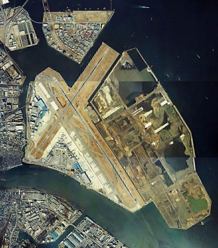 Haneda in 1984