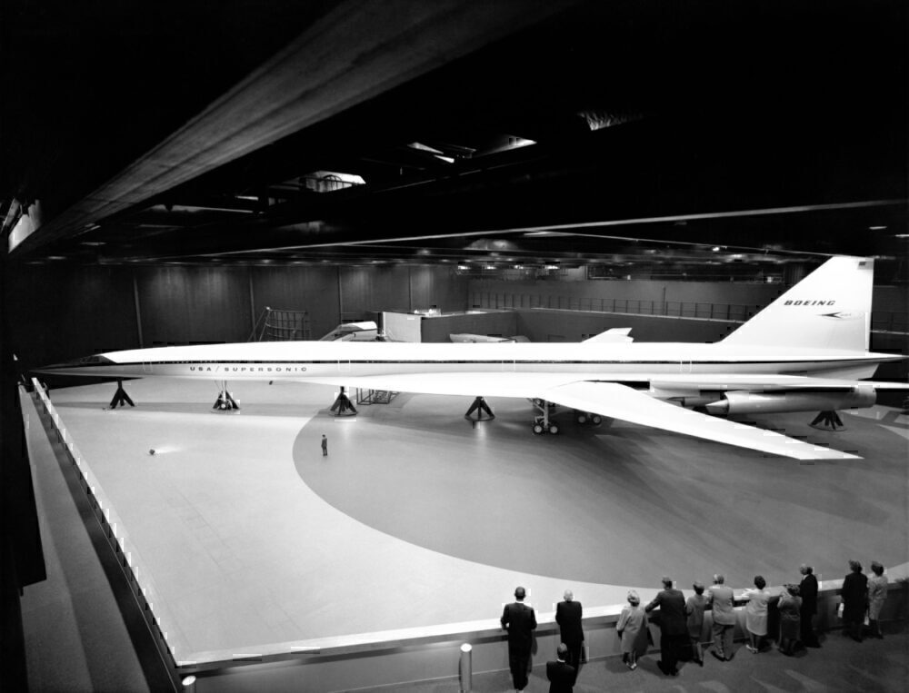 Boeing 2707 Jet