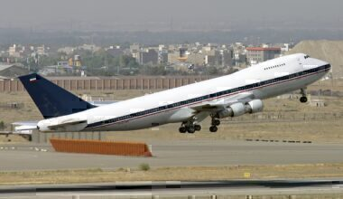 Iranian Air Force Boeing 747-200