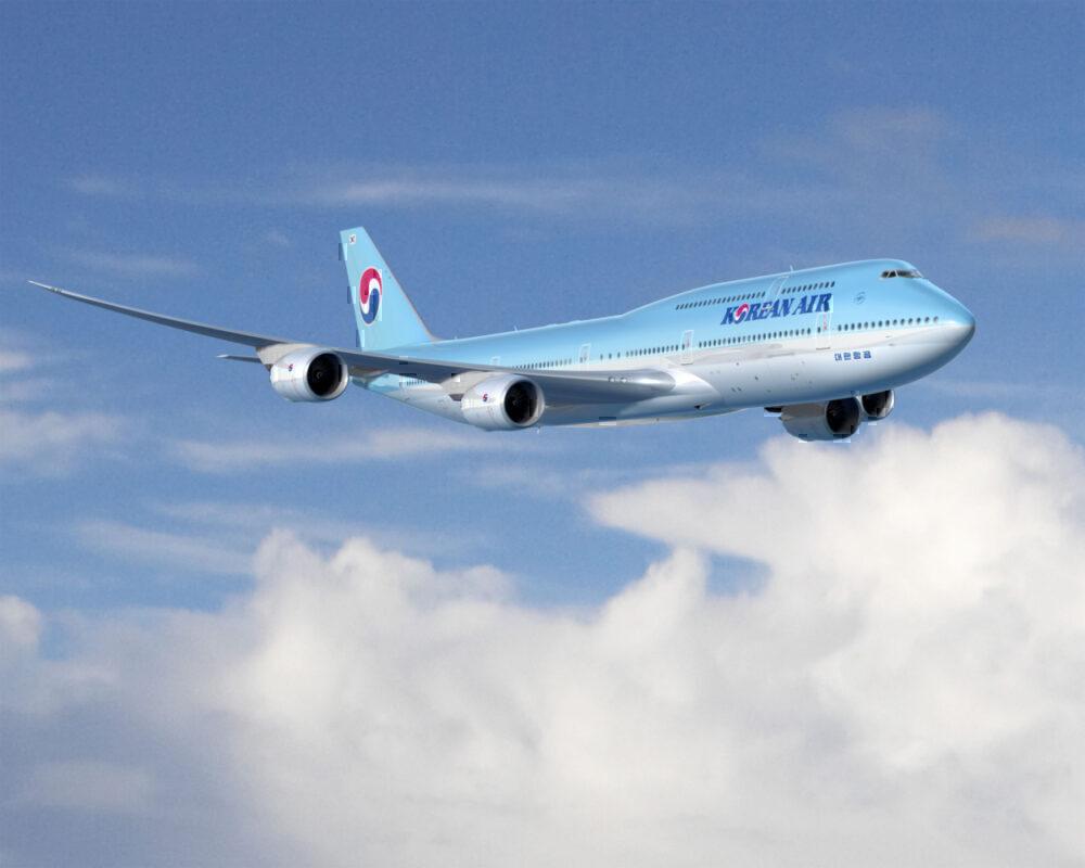 Korean Air 747-8I rendering
