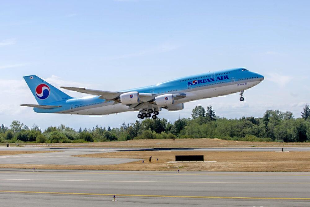 Korean Air 747-8I