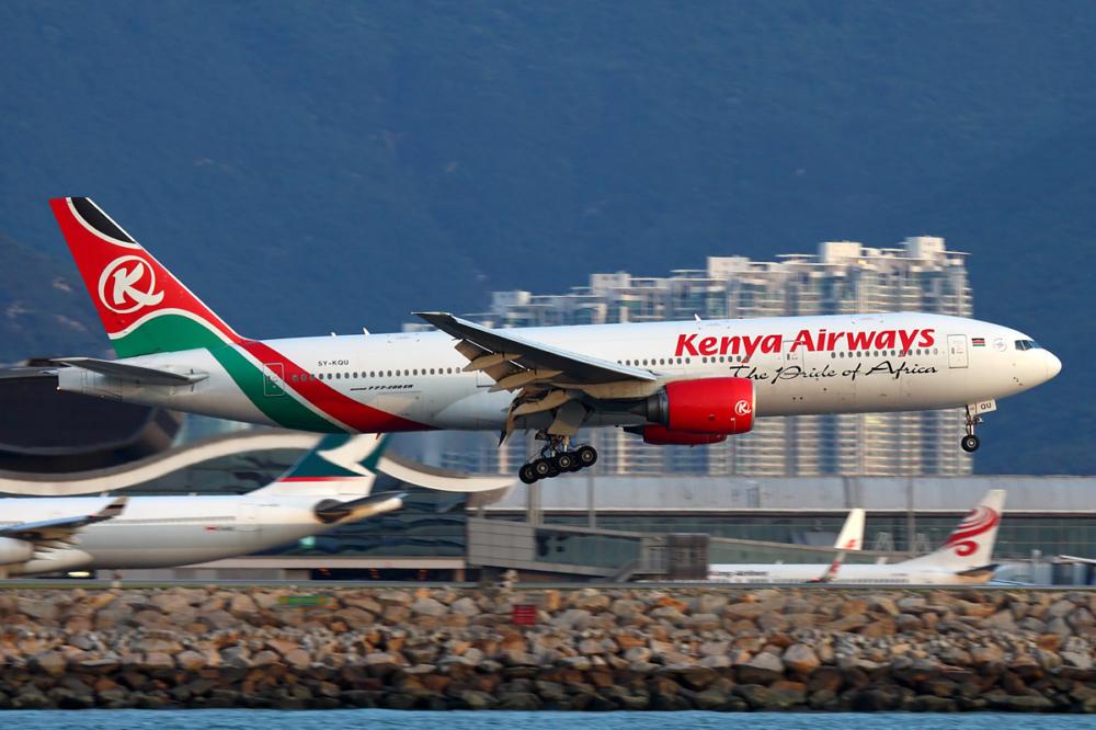 KQ 777-200ER