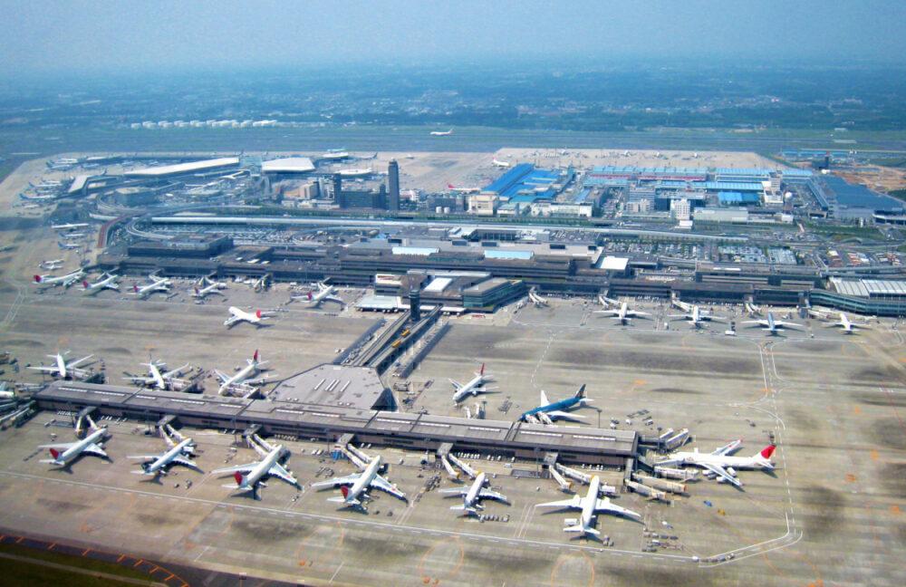 Narita aerial view