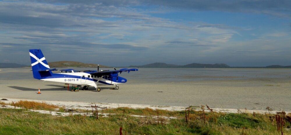 Loganair Barra