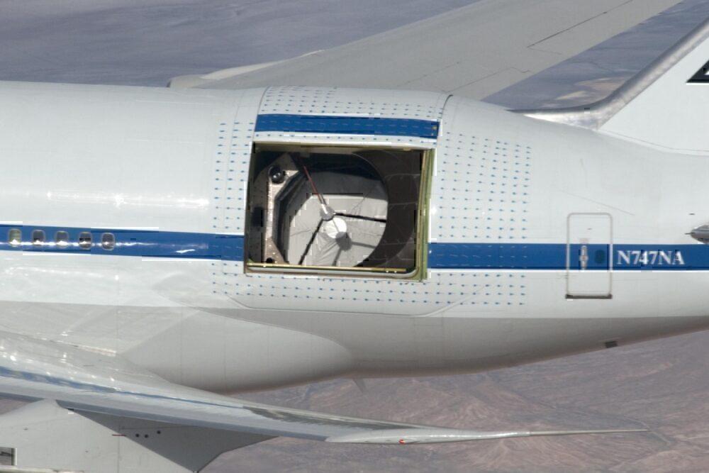 SOFIA 747SP Telescope Door