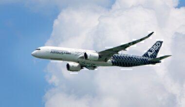 Airbus A350-900XWB at Singapore Airshow