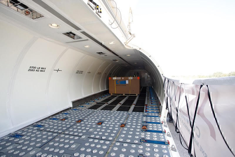 Texel Air Takes Delivery Of The First Boeing 737-700 FlexCombi