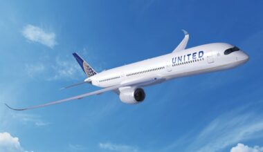 United Airbus A350