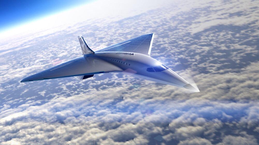 Virgin Galactic, Mach 3 Aircraft, Supersonic