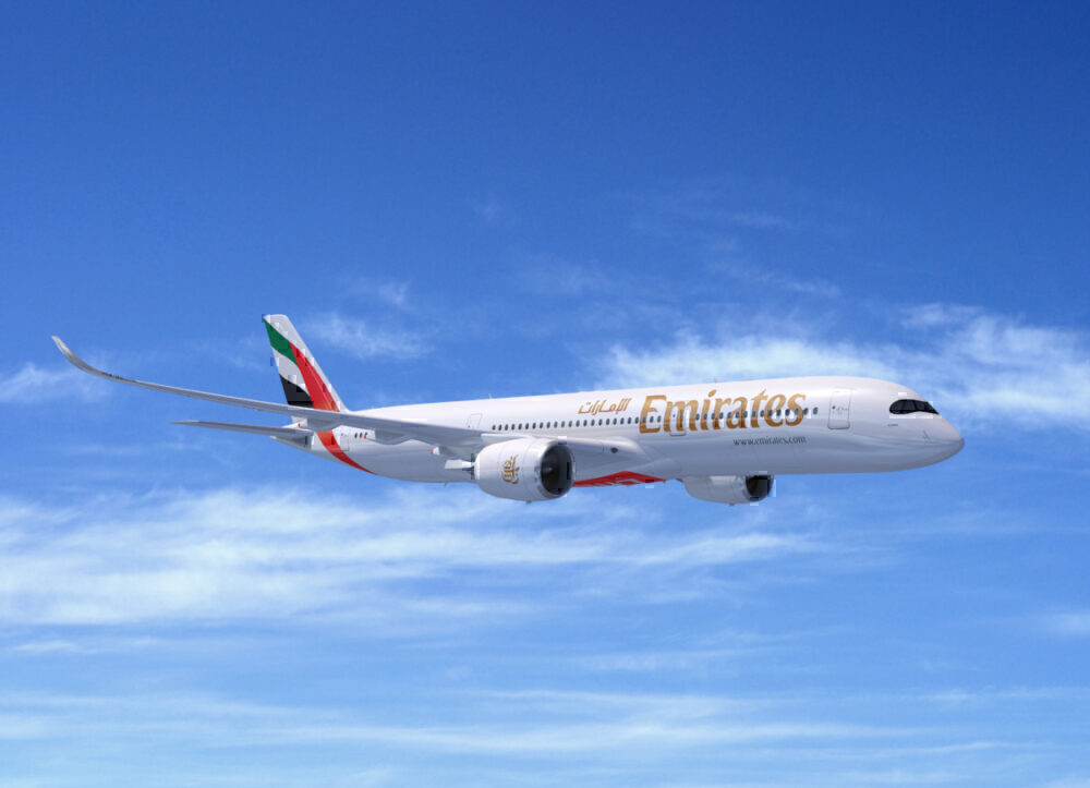 Emirates, Boeing 787, Delivery
