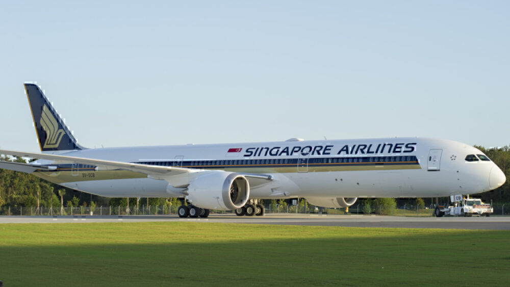 Singapore Airlines Boeing