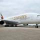 Emirates, Airbus A380, Guangzhou